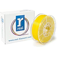 Real Filament 8719128329666 Real PETG, Spool of 1 kg, 1.75 mm, Opaque Yellow - ukpricecomparsion.eu