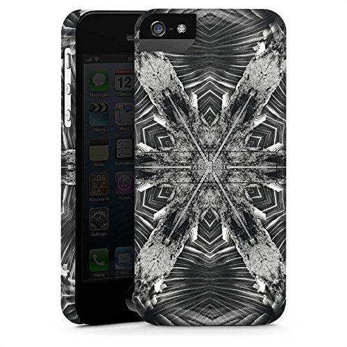 Apple iPhone X Silikon Hülle Case Schutzhülle Abstrakt Batik Tie Dye Premium Case StandUp