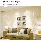 Oliote Vliestapete Vlies Wand Tapete 3D Barock Rolle Wandtapete Dekoration für Wohnzimmer, Schlafzimmer und TV Hintergrund
