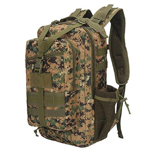 Z&N Backpack Militär Trainingspaket Reise Outdoor Bergsteigen Tasche militärische Ausrüstung Camping Netz Tasche Rucksack Multi-Zweck atmungsaktiv langlebig leicht F