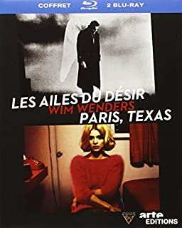 Wim Wenders - Les ailes du désir + Paris, Texas [Blu-ray] (B00579EL3G) | Amazon price tracker / tracking, Amazon price history charts, Amazon price watches, Amazon price drop alerts