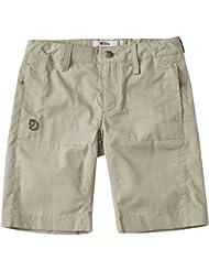 Fjällräven Niños Kids Abisko Shade Pantalones Cortos, infantil, color Limestone, tamaño 158