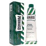 Proraso Shaving Cream, Eucalyptus & Menthol, 150 Ml, New Formulation (Pack of 3)