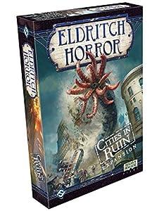 Fantasy Flight Games FFGEH08 Cities in Ruin: Eldritch Horror Exp, Multicolor