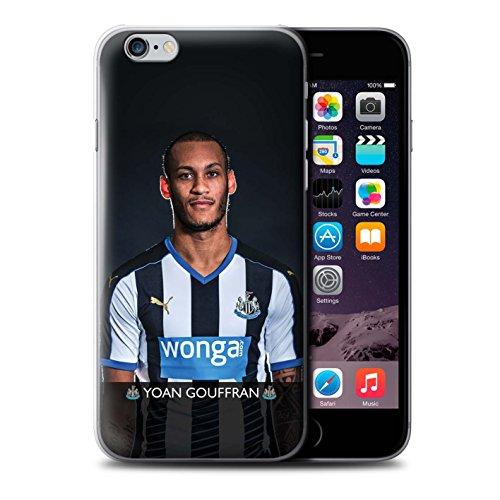 Offiziell Newcastle United FC Hülle / Case für Apple iPhone 6+/Plus 5.5 / Pack 25pcs Muster / NUFC Fussballspieler 15/16 Kollektion Gouffran