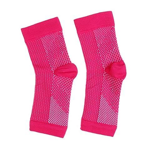sharplace angenehmen Fuß Compression Sleeve Anti Müdigkeit Schmerzlinderung Brace Strap