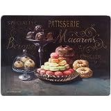 Creative Tops X-Large Patisserie Premium de sets de table Dessous en liège, Lot de 4, multicolore