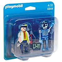 Playmobil 6844 Collectable Scientist with Robot Duo Pack