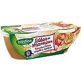 Blédina les idées de maman x 2 bols 200 g tomates pates coquille jambon - ( Prix Unitaire ) - Envoi Rapide Et...