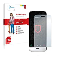 3x Vikuiti Screen Protector DQCT130 from 3M for Siemens Gigaset SL910A (oblong cutout)