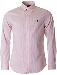 Polo Ralph Lauren Long Sleeved Slim Fit Striped Shirt