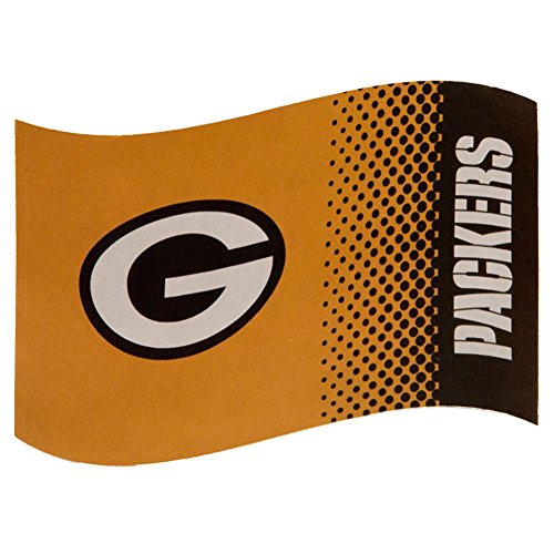 ag FD NFL Flagge Offizielles NFL Merchandising (Green Bay Packers Fahne)