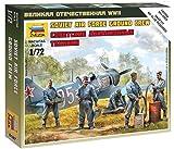 500786187 - Zvezda 1:72 Soviet airforce ground crew -
