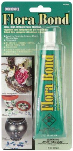 Surebonder FL-9002 Flora Bond Clear High Strength Adhesive