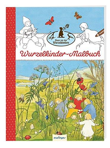 """Wurzelkinder-Malbuch \""""Etwas von den Wurzelkindern\"""": VE 10 (Die Wurzelkinder)"""