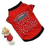 Hund Shirt Cute Sommer Pet Dog Puppy Baumwolle Kleidung Cozy Hund T Shirt Bekleidung Weste für kleine Hunde