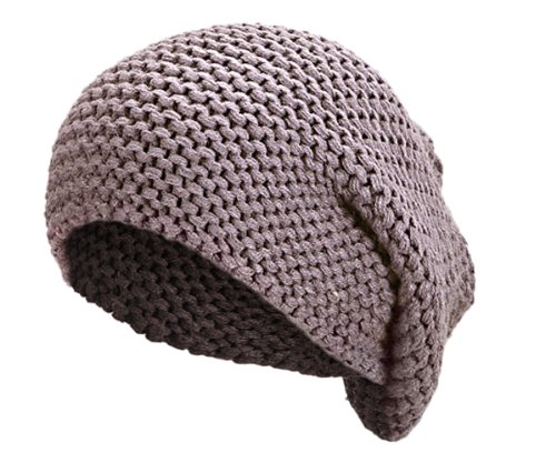 Wahlfeld Long Beanie Mütze   lange Mütze für Damen und Herren   in schwarz, dunkelgrau, hell grau   grob gestrickt
