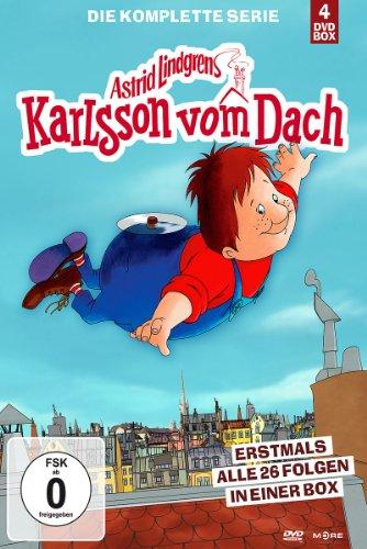 Karlsson vom Dach - Die komplette Serie [4 DVDs]: Alle Infos bei Amazon