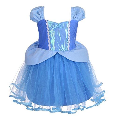 Angel Kostüm Baby - Lito Angels Baby Mädchen Prinzessin Cinderella Kleid Kostüm Weihnachten Halloween Party Verkleidung Karneval Cosplay Kinder 12-18 Monate