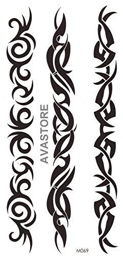 Temporäre Tattoos - Tattoo Tribal