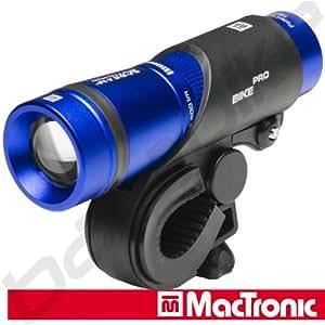 MacTronic LED Fahrrad Frontleuchte, Blau, L- BPM-170L-300