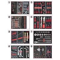 KS Tools 714.0330 Composition de 354 Outils PL 8 tiroirs pour servante pas cher