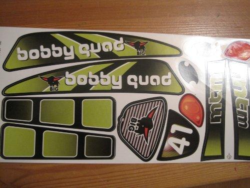 Big Stickers Aufklebersatz Quad Racing