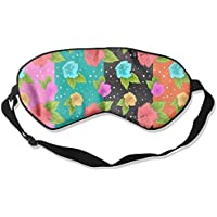 Comfortable Sleep Eyes Masks Tropical Floral Pattern Sleeping Mask For Travelling, Night Noon Nap, Mediation Or... preisvergleich bei billige-tabletten.eu