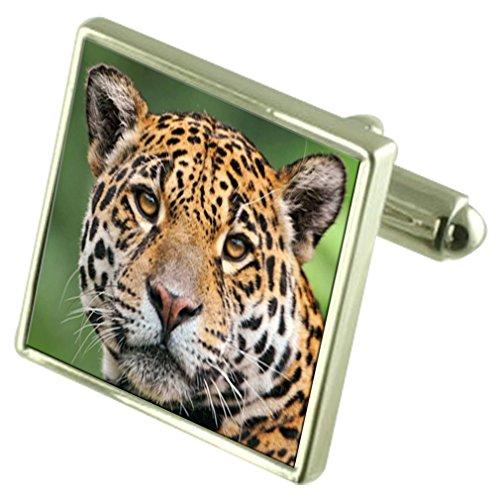 Select Gifts Souvenir gravé Cat Jaguar Message Box