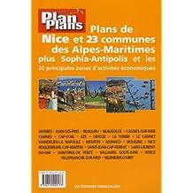 Guide Plan Plans Nice et 23 Communes des Alpes Maritimes