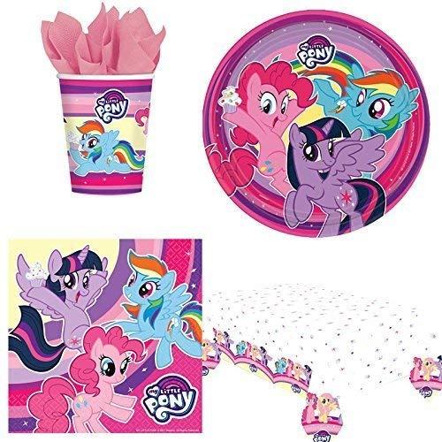 Generic My Little Pony fête Vaisselle Pack 8