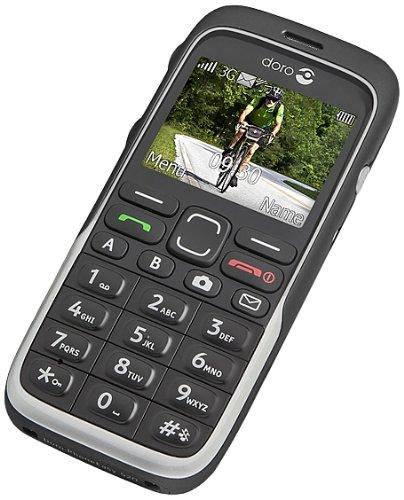 Doro Phone Easy Unlocked x 520 schwarz Unlocked Gsm Touchscreen