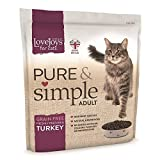 Lovejoys Pure and Simple Turkey Adult Cat Food, 400 g