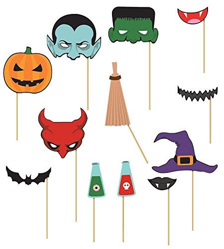927 - Set Photocall Halloween 12 Stück (Photocall Halloween)