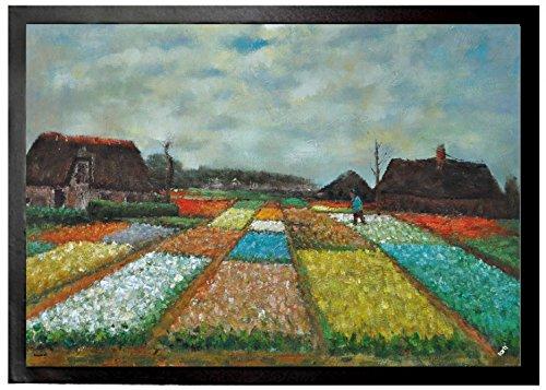 Vincent Van Gogh - Bulb Fields, 1883 Felpudo Alfombrilla (70 x 50cm)