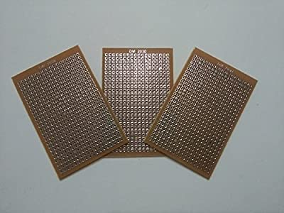 Technical Hut General Purpose PCB Printed Circuit Board (2x3-inch) - Set of 3