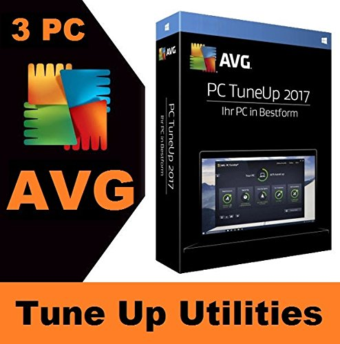 AVG TuneUp 2017 3 PC - 2 Jahre [Online Code] Lizenz Key Vollversion
