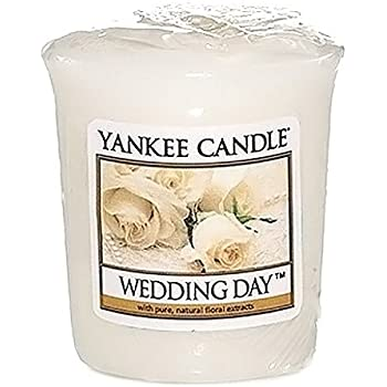 yankee candle samplervotive wedding day white