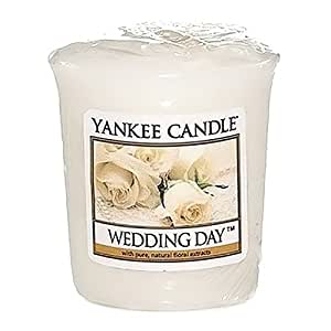 yankee candle votivduftkerze 39 wedding day 39 49 g k che haushalt. Black Bedroom Furniture Sets. Home Design Ideas