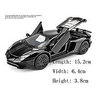 Nome prodotto: Giocattoli per auto   Dimensioni: 15.2 * 6.4 * 3.8 cm   Materiale: plastica ABS + lega   Peso: 400 grammi   La via da seguire: arretrare   Tipo di giocattolo: giocattolo di metallo   Colore: rosso, nero, bianco,   Età applicabile: 3...