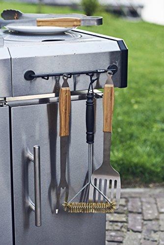 513xfUq13iL - Enders GRILL MAGS  Halter für Grill-Besteck 7812, Grill-Zubehör, Gasgrill BBQ, Aufbewahrung, magnetische Halterung, universell einsetzbar
