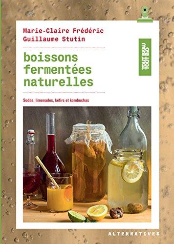 Boissons fermentes naturelles: Sodas, limonades, kfirs et kombuchas