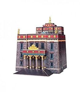 CLEVER PAPER Puzzles 3D Templo Budista, San Petersburgo 14413