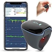 Monitor del Sonno, Monitor per la Frequenza Cardiaca Monitor dell'Ossigeno Bluetooth Indossabile, Vibrazio