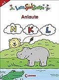 Anlaute (LernSpielZwerge - Mal- und Rätselblocks)