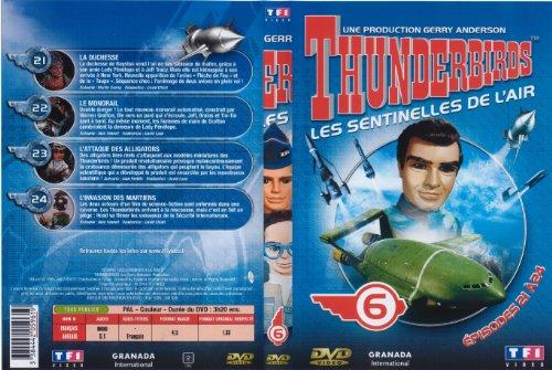 Bild von Thunderbirds - Les sentinelles de l'air -vol 6- épisodes 21 à 24