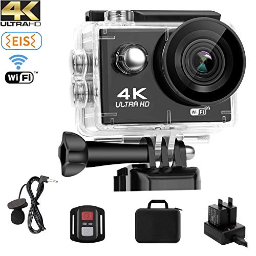 Cámara deportiva 4k Ultra HD WIFI 20MP
