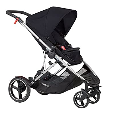 phil&teds Voyager Buggy Pushchair, Black  HUAXING