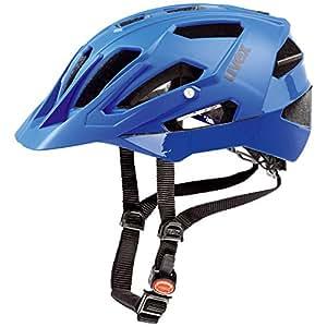 Uvex Quatro Casque de vélo Blue Mat/Shiny 52-57 cm