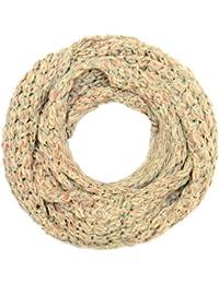 Kandharis Weicher Rundschal Schlauchschal in Grobstrick Muster Mehrfarbig Strickmuster